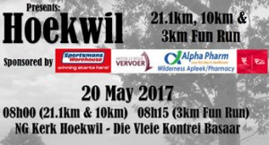 Hoekwil 21.1KM, 10KM and 3KM Fun Run