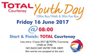 TOTAL Youth Day 10KM Run/Walk