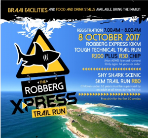 Robberg Xpress Trial Run
