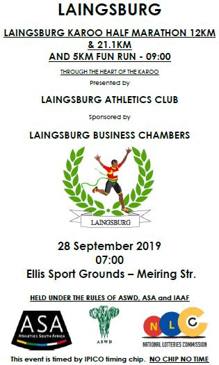 Laingsburg Karoo Ultra, Half Marathon and 12km